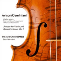 Charles Avison - 12 Concerti Grossi after Geminiani
